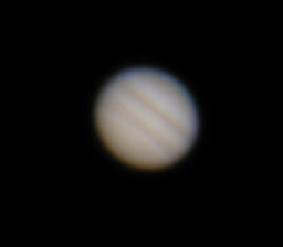 A single frame of Jupiter.